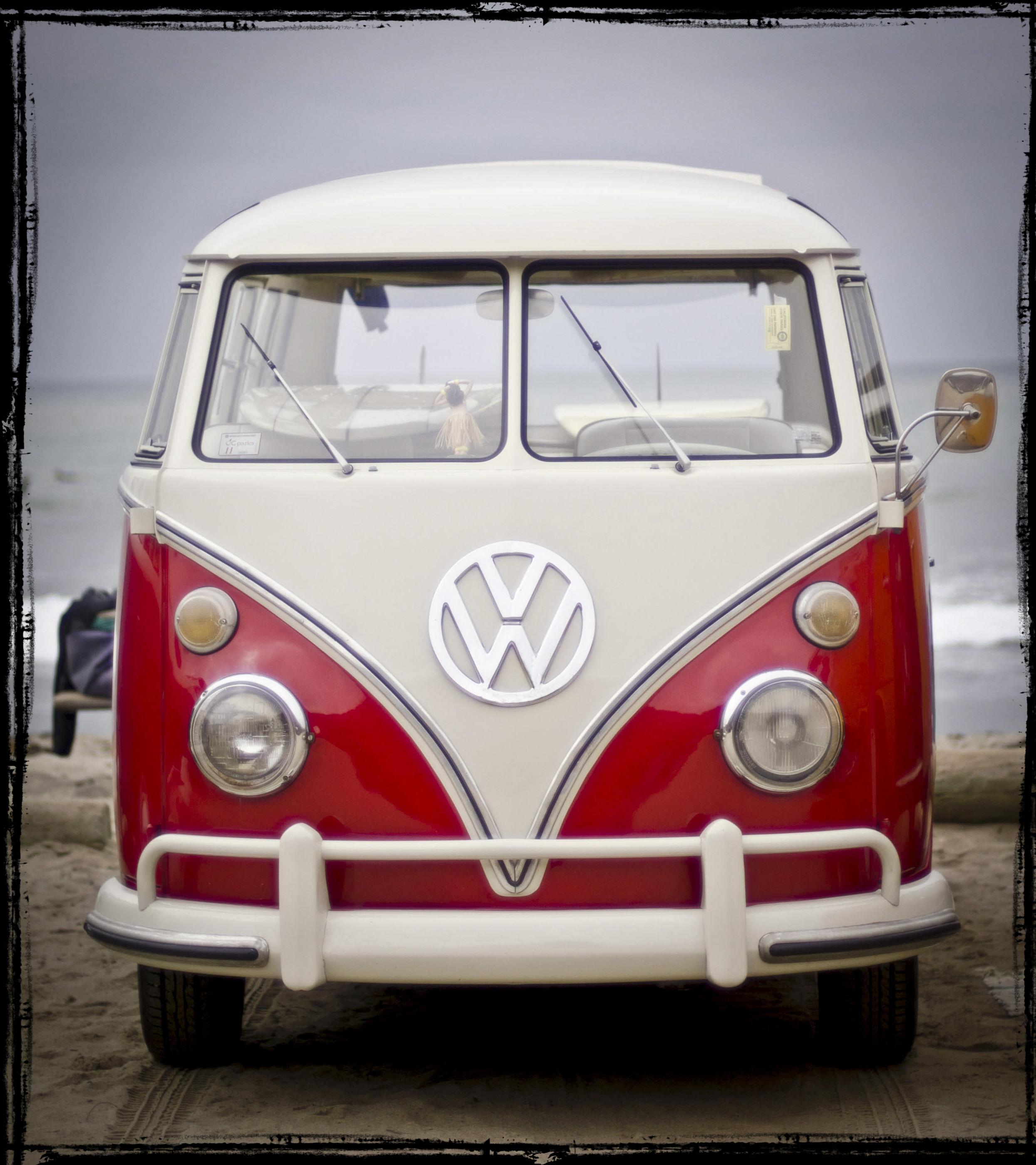 hippie van wallpaper